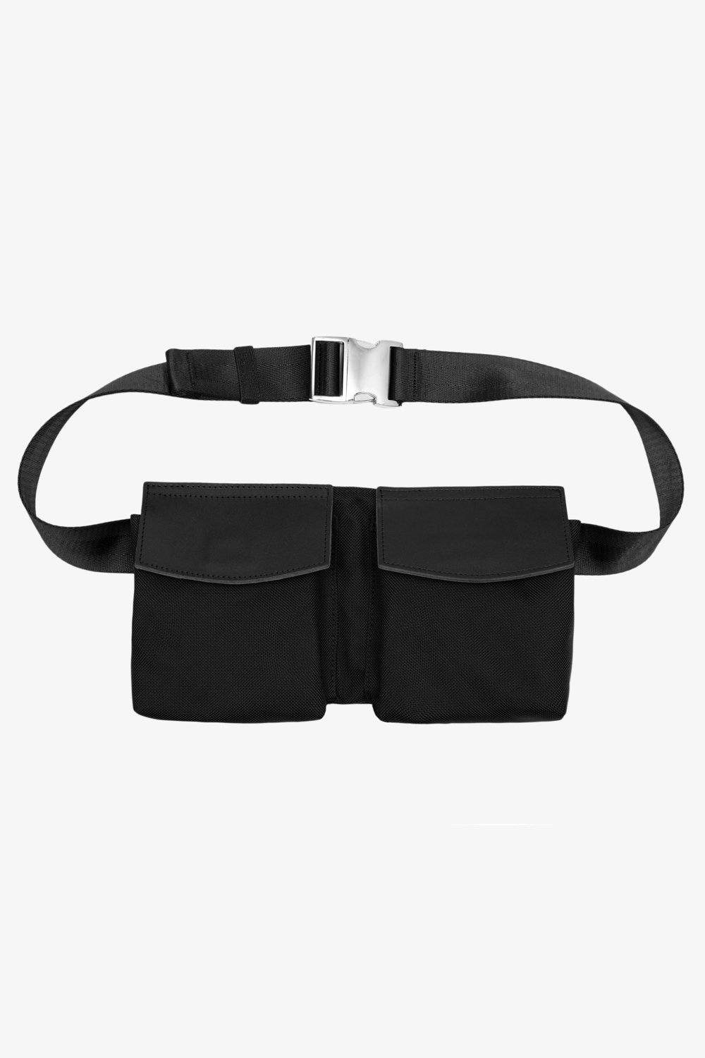 Billie Belt Bag - Gray Jack + Mulligan Black