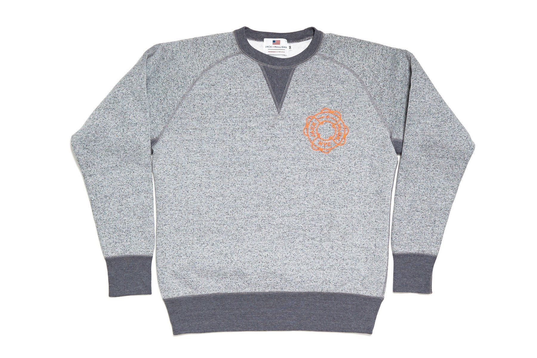 Dark and Stormy Crewneck Sweatshirt - Gray Clothing Jack + Mulligan