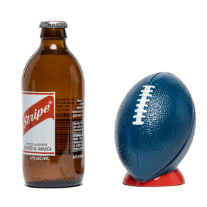 Football Bottle Opener - Blue / Red Jack + Mulligan