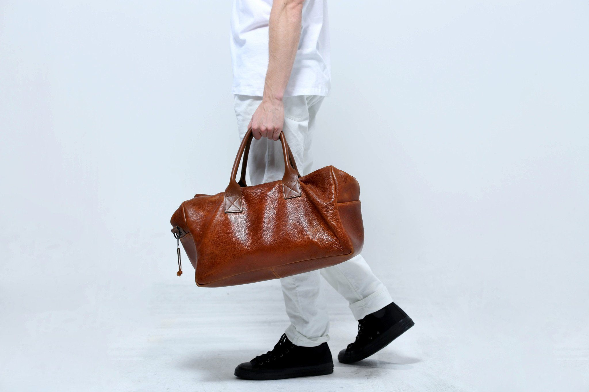 Hemingway Leather Holdall Jack + Mulligan