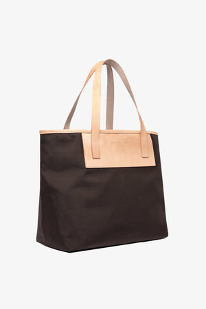 Pablo Tote - Bark Brown / Large Jack + Mulligan