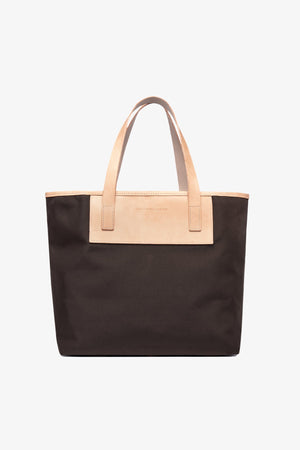 Pablo Tote - Bark Brown / Medium Jack + Mulligan