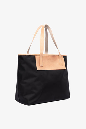 Pablo Tote - Black / Medium Jack + Mulligan