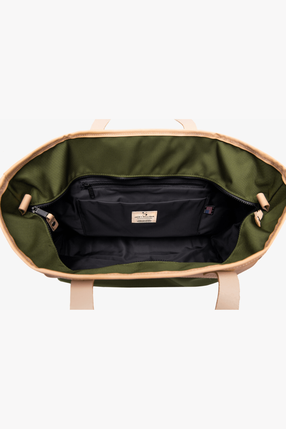 Pablo Tote - Forest Green Jack + Mulligan