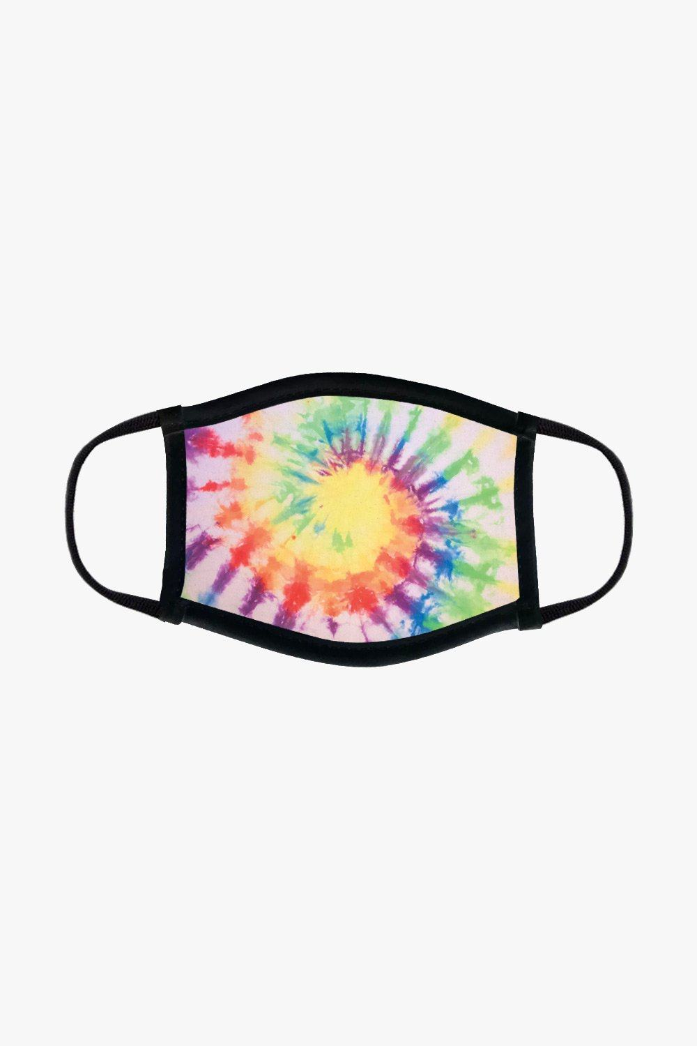 Reusable Fabric Face Mask - Tie Dye Jack + Mulligan