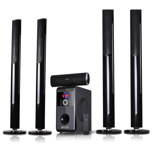 BefreeSound Home Stereo Systems beFree Sound 5.1 Channel Bluetooth Surround Sound Speaker System