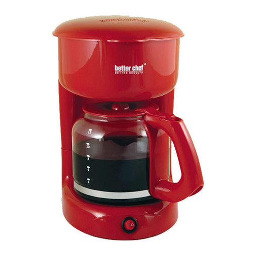 BetterChef Kitchen Appliances Better Chef 12-cup Red Coffeemaker