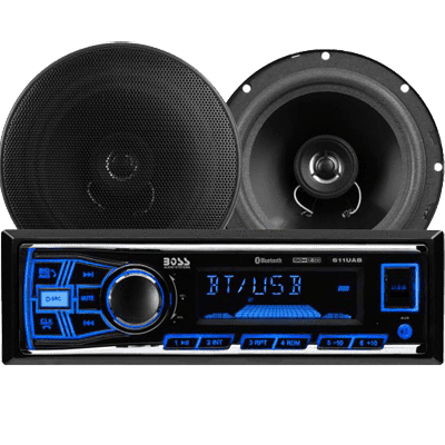 Boss Audio Audio Car Stereo Package, AM/FM/MP3