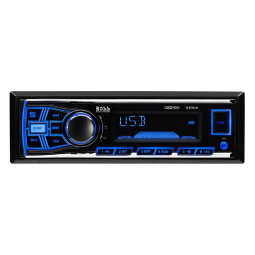 Boss Car Audio Boss 610UA 200 Watts Audio System with MP3-Compatible Digital Media AM-FM  Receiver