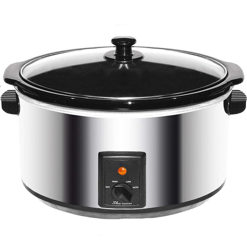 Brentwood Cookware Brentwood 8.0 Quart Slow Cooker Stainless Steel