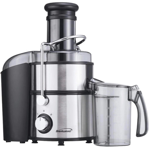 JC-500 2-Speed 700w Juice Extractor with Graduated Jar, Stainless Steel Kitchen Appliances Brentwood