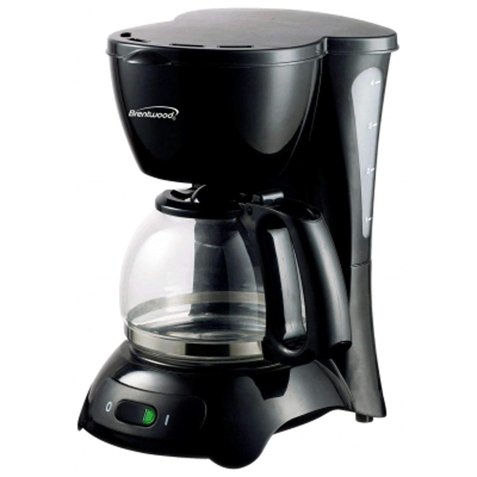 Brentwood Kitchen Appliances Brentwood 4-Cup Coffee Maker (Black)