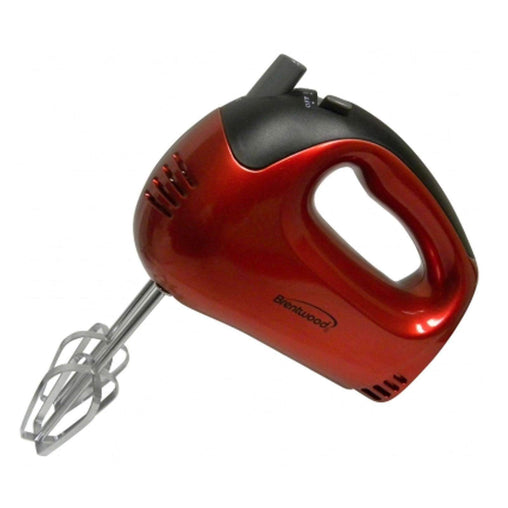 Brentwood Kitchen Appliances Brentwood 5-Speed Hand Mixer (Red)