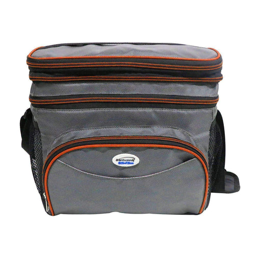 Brentwood Office and Home Cooler Bag with Leak-Proof Hard Liner Bucket -Will Hold 6 Normal Soda Cans