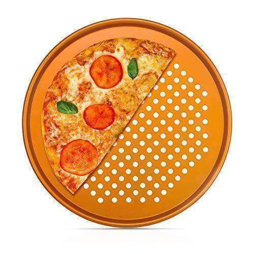 Copper Chef Kitchen Nonstick Copper Pizza Pan