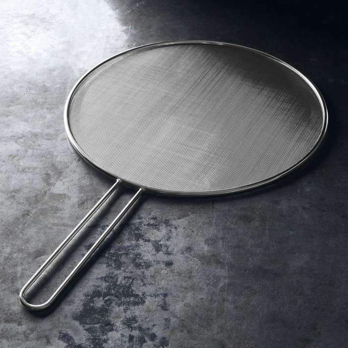 "Culinary Edge Kitchen Splatter Screen for Frying Pan 11"" - Stainless Steel Splatter Guard"