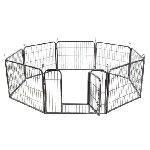 "DealsDot.Com Animals & Pet Supplies 24""-32""-40"" 8 Panel Metal Pet Puppy Dog Kennel Fence Playpen"