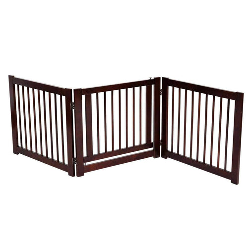 "DealsDot.Com Animals & Pet Supplies 24"" Configurable Folding 3 Panel Wood Dog Fence"
