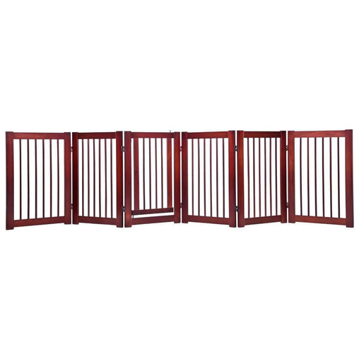"DealsDot.Com Animals & Pet Supplies 30"" Configurable Folding Free Standing Wood Pet Safety Fence"