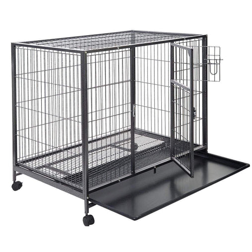 DealsDot.Com Animals & Pet Supplies 44'' x 29'' Metal Wire Pet Crate Cage