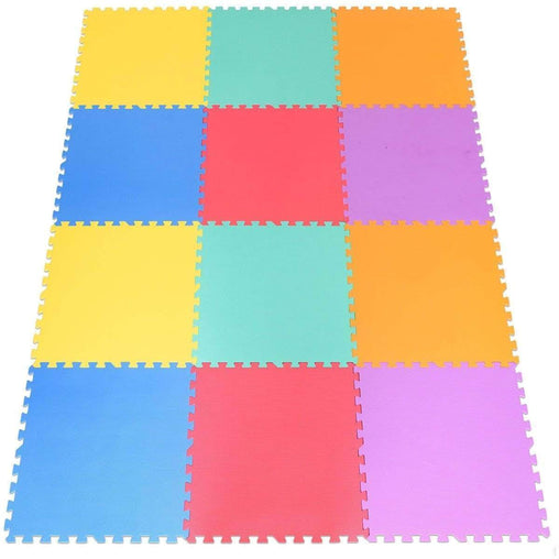 DealsDot.Com Baby & Toddler 12 pcs Baby Kids Carpet Puzzle Exercise Mat