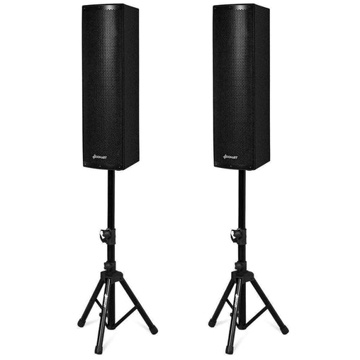 DealsDot.Com Electronics 2000W Set of 2 Bi-Amplified Bluetooth Speakers