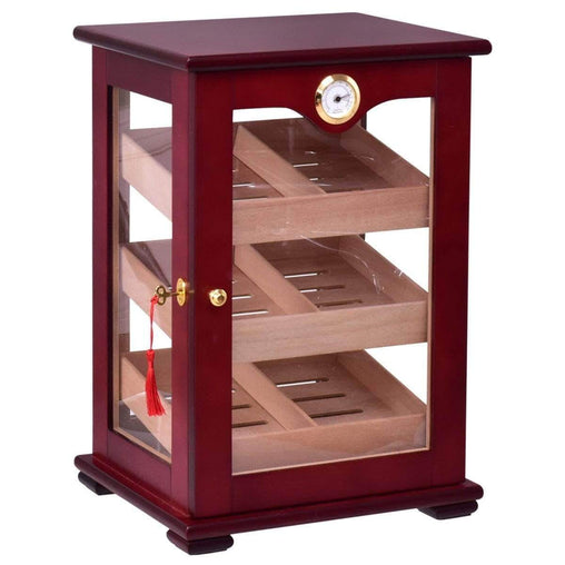 DealsDot.Com Furniture 150 Cigars Display Humidor Storage Cabinet with Hygrometer