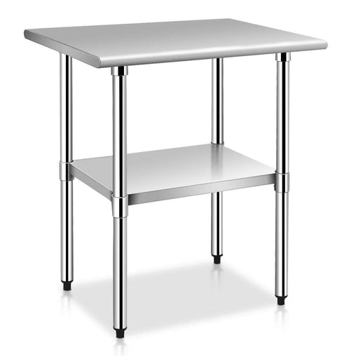 "DealsDot.Com Furniture 24"" x 30"" Stainless Steel Commercial Kitchen Work Prep Table"