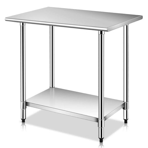 "DealsDot.Com Furniture 24"" x 36"" Commercial Kitchen Stainless Steel Work Prep Table"