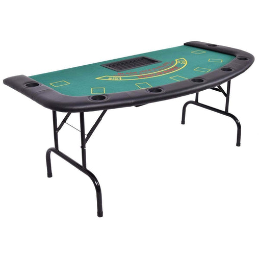DealsDot.Com Furniture 7 Players Texas Holdem Foldable Poker Table
