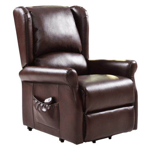 DealsDot.Com Furniture Brown Electric Lift Chair Recliner with Remote Control