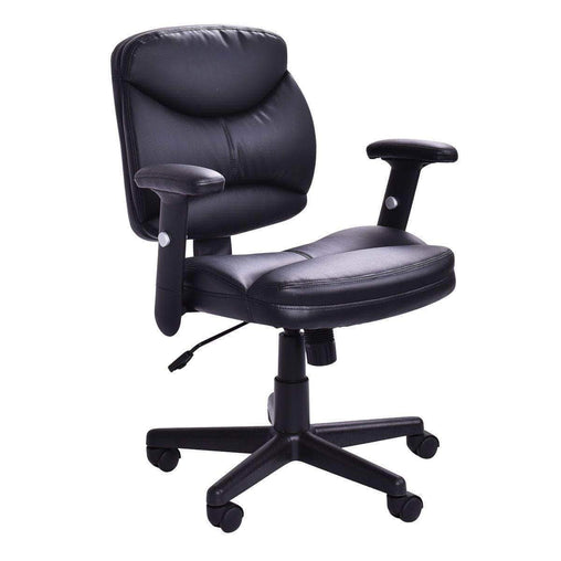 DealsDot.Com Furniture Executive PU Leather Mid Back Office Chair