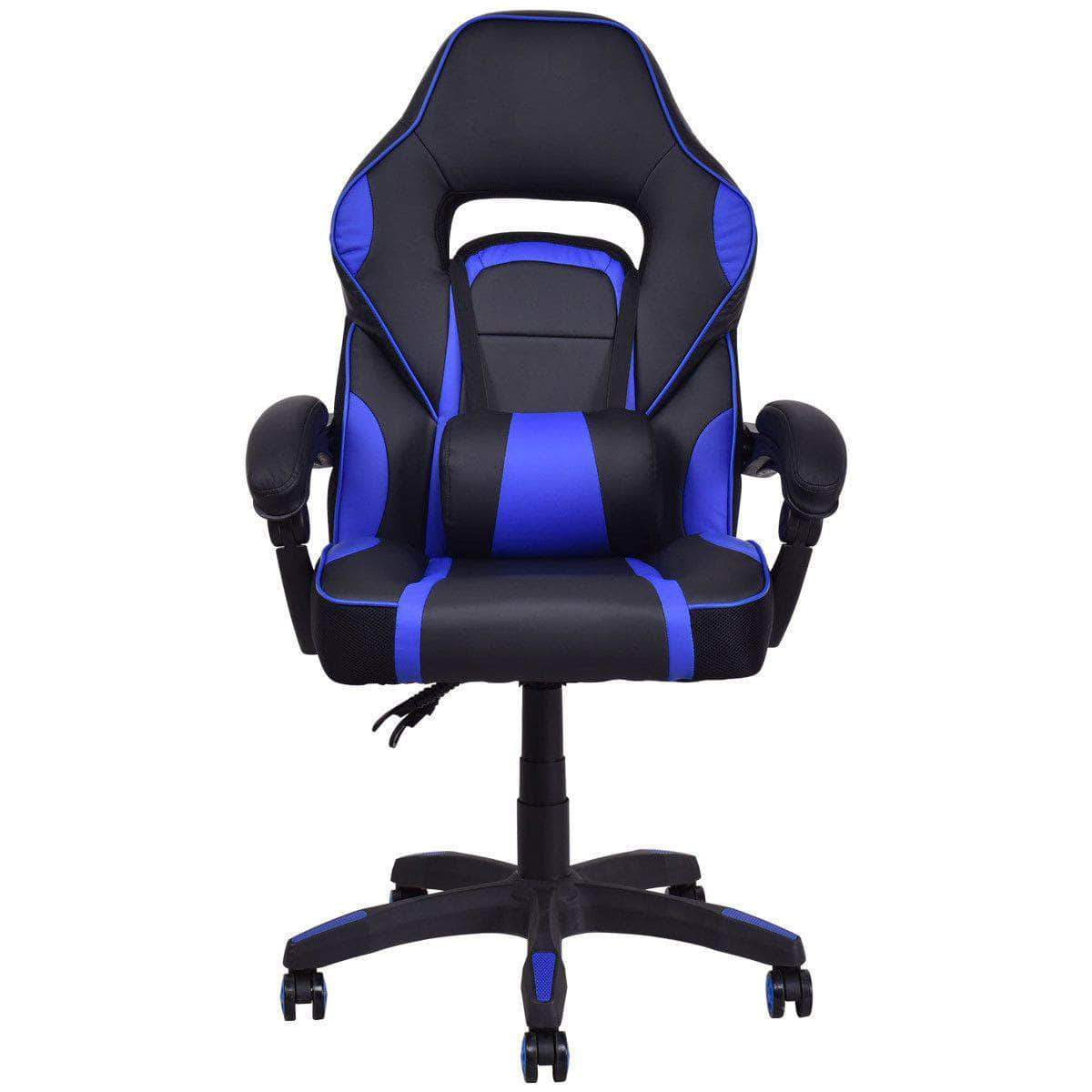 High Back Racing Style Pu Leather Gaming Chair Dealsdot Com