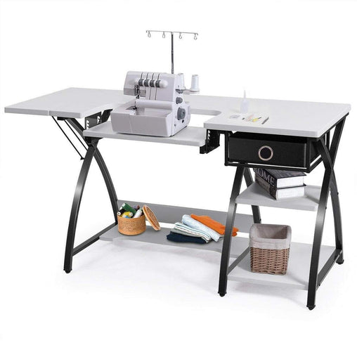 DealsDot.Com Furniture Sewing Craft Table Folding Computer Desk