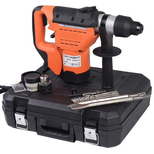 "DealsDot.Com Hardware 1-1-2"" SDS Electric Rotary Hammer Drill Kit"