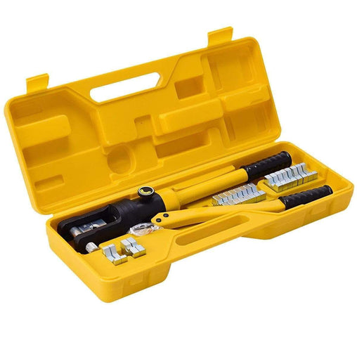 DealsDot.Com Hardware 16 Ton Cable Lug Hydraulic Wire Terminal Crimper with Dies