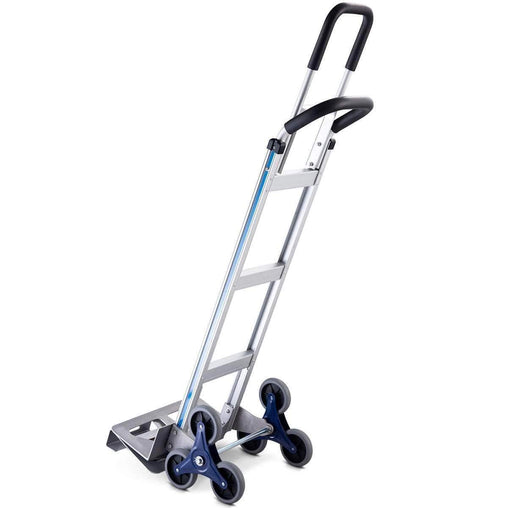 DealsDot.Com Hardware 2-in-1 550 lbs Folding Hand Truck Stair Aluminum Cart Dolly