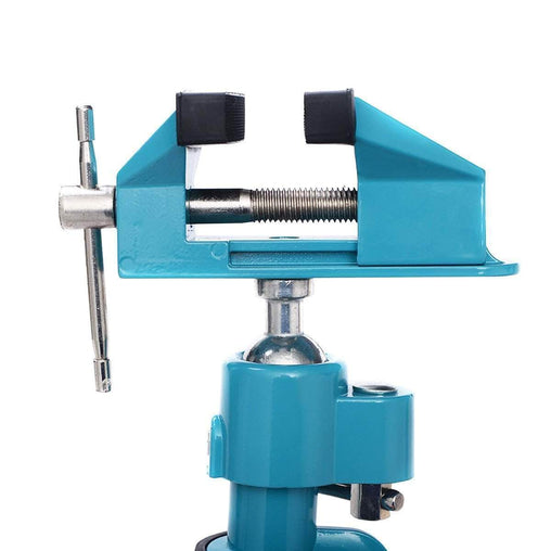 "DealsDot.Com Hardware Goplus Bench Vise Swivel 3"" Tabletop Clamp Vice Tilts Rotate 360° Universal Work"