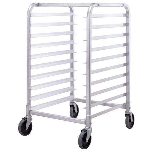 DealsDot.Com Home & Garden 10 Sheet Aluminum Bakery Rack Rolling Commercial Cookie Bun Pan
