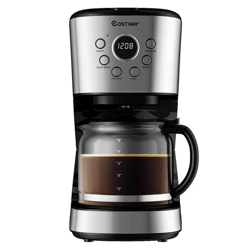 DealsDot.Com Home & Garden 12-cup LCD Display Programmable Coffee Maker Brew Machine