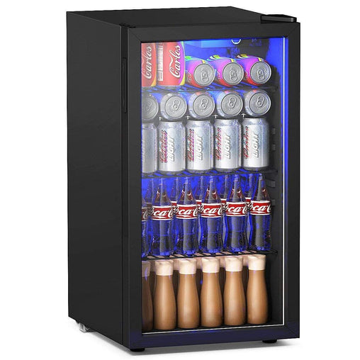 DealsDot.Com Home & Garden 120 Can Beverage Mini Refrigerator w- Glass Door