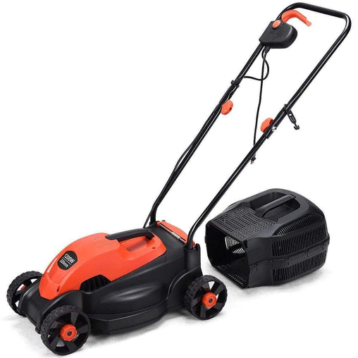 "DealsDot.Com Home & Garden 14"" Electric Push Lawn Corded Mower with Grass Bag"