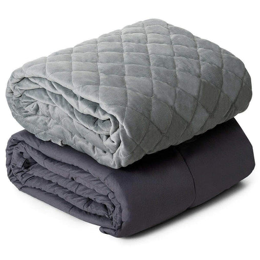 DealsDot.Com Home & Garden 25 lbs Weighted Blanket 100% Cotton with Soft Crystal Cover