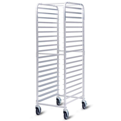 "DealsDot.Com Home & Garden 26"" x 20"" x 70"" 20 Sheet Aluminum Pan Rolling Bakery Rack"