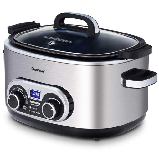 DealsDot.Com Home & Garden 4-in-1 6 Quart Stainless Multi Cooker