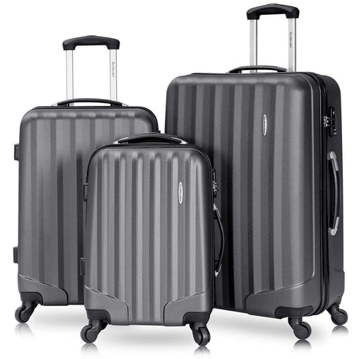 DealsDot.Com Luggage & Bags 3 pcs Luggage Travel Set Bag with Lock