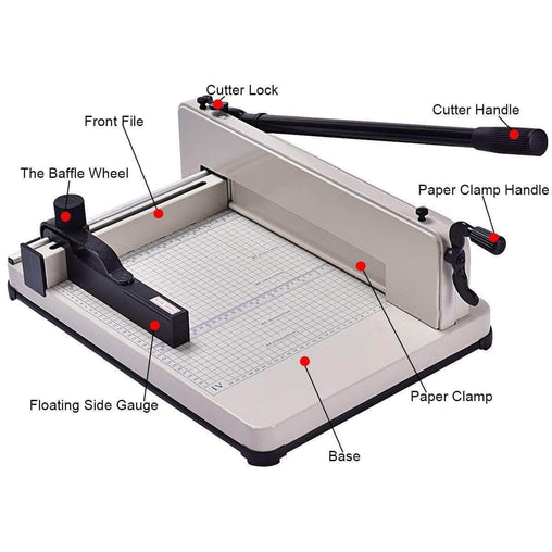 "DealsDot.Com Office Supplies 12"" A4 Heavy Duty Trimmer Paper Cutter Machine"
