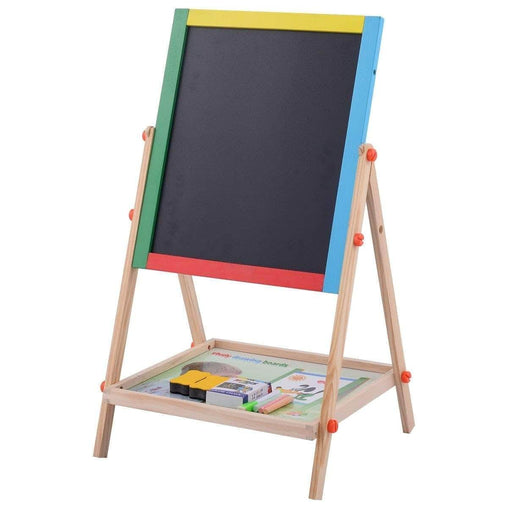 DealsDot.Com Office Supplies 2-in-1 Adjustable Wooden Easel Drawing Board