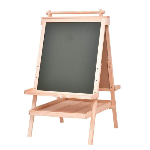 DealsDot.Com Office Supplies All in One Kid's Double Side Wooden Art Easel with Paper Roll