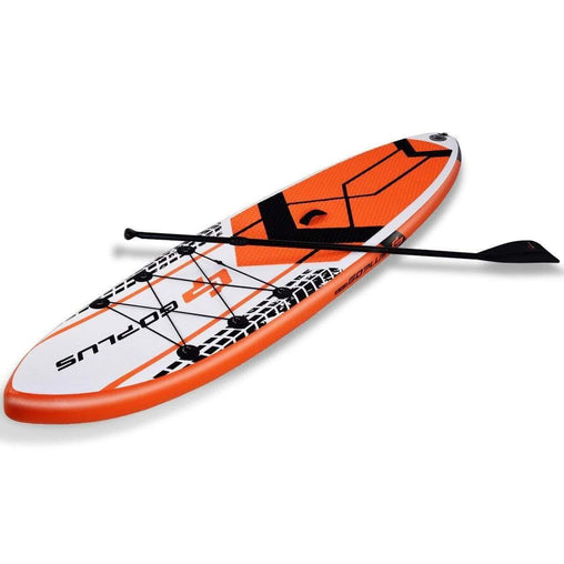 DealsDot.Com Sporting Goods 10.5' SUP Inflatable Stand up Paddle Board with Adjustable Backpack